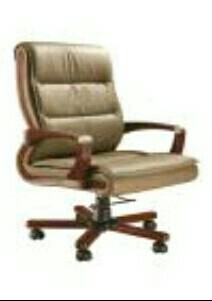 Geeken Leatherite high back president model no. chair gp - 101, Size (Feet): NA