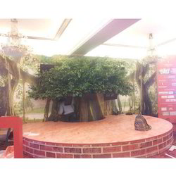 Artificial Tree For Agenda Aaj Tak Tv Channel