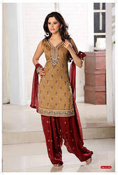 Designer Ladies Suits - Designer Punjabi Suit Manufacturer from