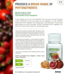 Nutrilite Concentrated Fruits And Vegetables 60 N Tablets