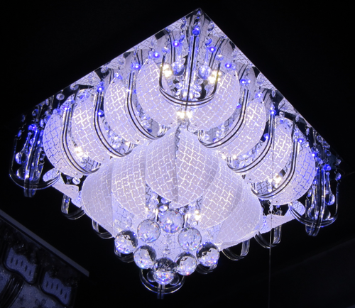 Color Changing Led Chandelier, Chandelier Lighting Fixture - L ...