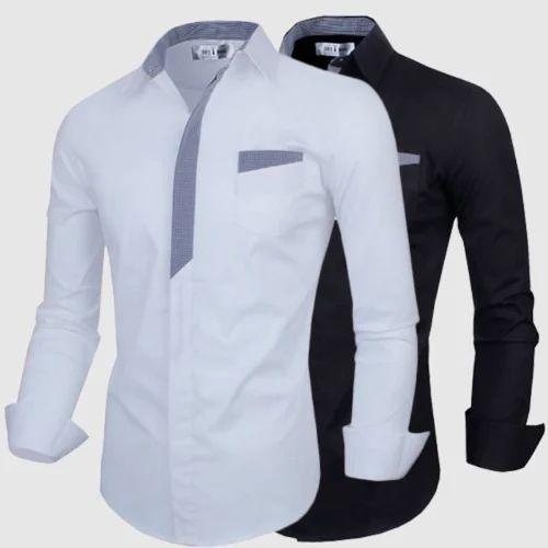 Mens Shirts - Mens Designer Shirt Manufacturer from Sultanpur