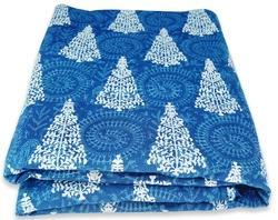 Hand Block Printed Cotton Fabric Quilt