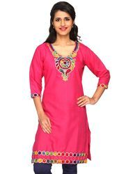 Embroidered Cotton Kurti