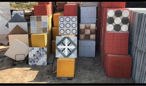 Cement Parking Tiles - Parking Tile Manufacturer from Pune