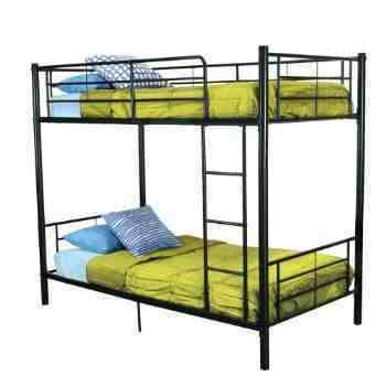 Wrought Iron Simple Double Bunk Bed Size 3 X 6 Feet Id 2339850733