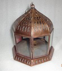 Brass Garden Lantern