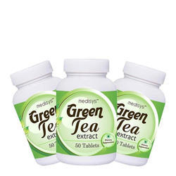 Green Tea Tablet Combo Of 3 Bottles