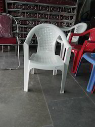 Mahaveer Fiber Arms Chair