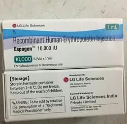Espogen 10000IU Injection (Erythropoietin)