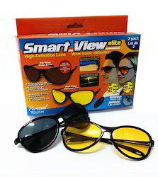 Kawachi 2 Piece Day And Night Driving Anti-Glare Glasses Unisex Goggles Set