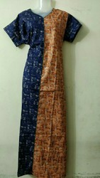 Cotton Ready Made Night Gown, Size: XXL