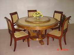 6 Seater Dining Table With Revolving Center