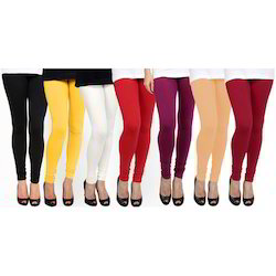 Available In Various Color Plain Womens Legging, Size: Large