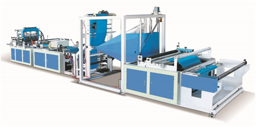 Fully Automatic Non-Woven Handle Bag Making Machine ...