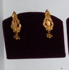 Simple Gold Earring