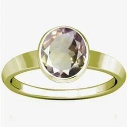 Ametrine Panchdhatu Ring