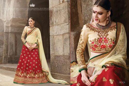 eddebe163e24d Designer Silk Lehenga Choli at Rs 4599  piece