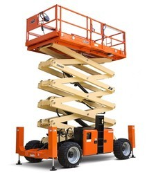 Diesel Operated Scissor Lift - Heavy Duty