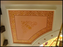 Decorative Ceiling Art Painting Service