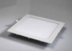 Square Aluminium Slim LED Panel Light for Office, IP Rating: IP40