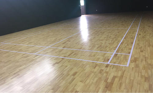 Badminton Court Flooring Hevea Wood