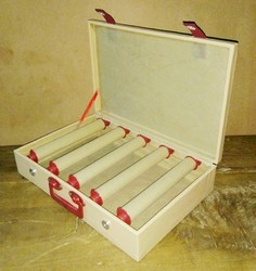 5 Rods  Wooden Bangle Box