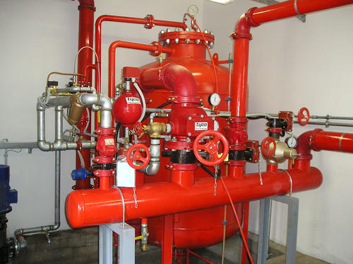 Fire fighting system installation services in begumpur