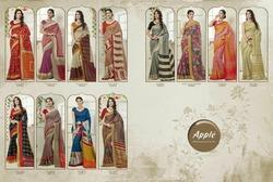 Silk Casual Wear Apple Panaroma Sarees