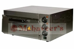 2kw Stainless Steel Electric Stone Base Pizza Oven, Capacity: 16*16 Chamber Size