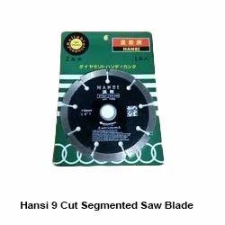 Hansi  9 Cut Segmented Saw Blade