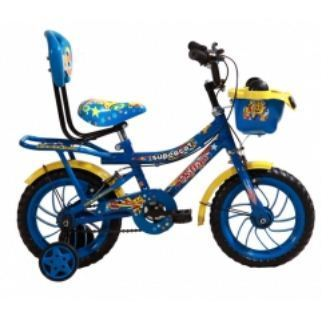 Bsa Phillips Supercat 10 Inch Kids Bicycle Blue And Yellow Children