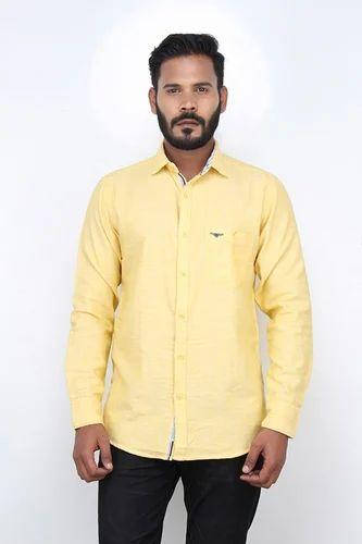 yellow shirt mens