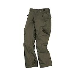 Kids Cotton Drab Brown Cargo Pant, Size: S, M & L