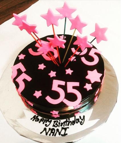 Fabulous 55 Birthday Cake At Rs 1800 Kilogram Khar West Mumbai Id Personalised Birthday Cards Paralily Jamesorg