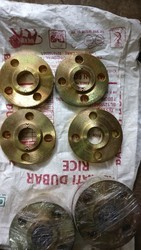 Yellow Zinc Plating Flanges