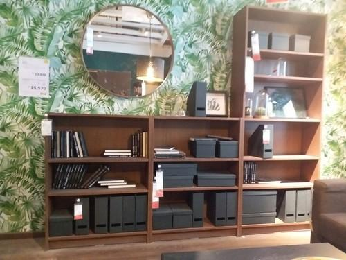 Batcha Furnitures Pine Wood Wooden Bookshelf, for Library