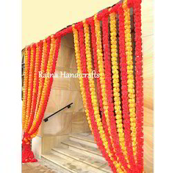 Silk Flower Gatepiece Garlands