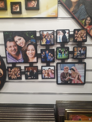Rectangle, Square Black Wall Mounted Photo Frame
