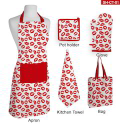 Christmas Apron, Glove, Pot Holder, Kitchen Towel, Bag