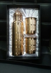 Shri dauji Copper gift set, Packaging Type: Gifting box
