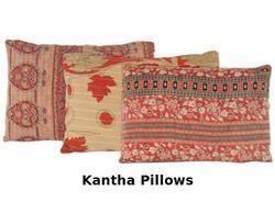 Vintage Kantha Pillows