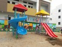 2 Stage Multi Play Systems With Spiral Slide