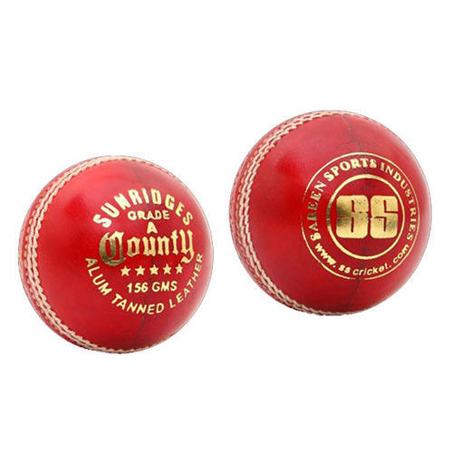 0b27c9e4521 SS County (Alum Tanned) Cricket Ball at Rs 405  piece