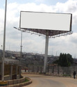 Display Unipole Hoarding