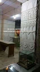 Mandir Wall Cladding