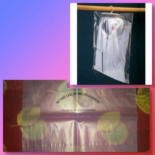 Jose Transparent Biodegradable Garment Bags