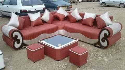 NSI 566 Corner Sofa Set