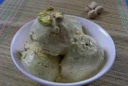 Sugar Free Kesar Pista Ice Cream