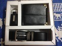 Texure Genuine Leather Gents Wallet Combo Set